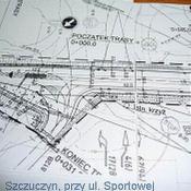 5. Plan przebudowy na 61 przy ul Sportowej