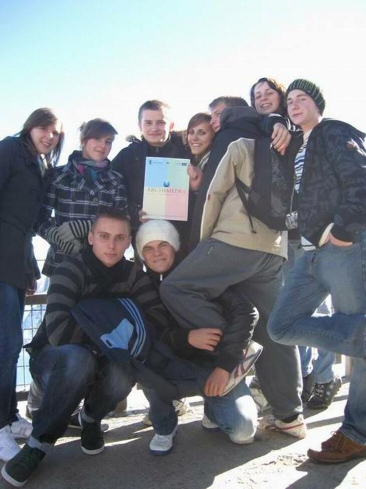 Uczniowie LO w Szwajcarii