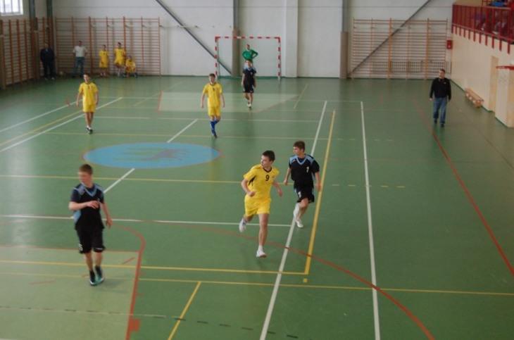 Futsal  - Gimnazjada 8 XII