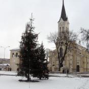 2. Grajewo, kościół Trójcy Przenajświętszej
