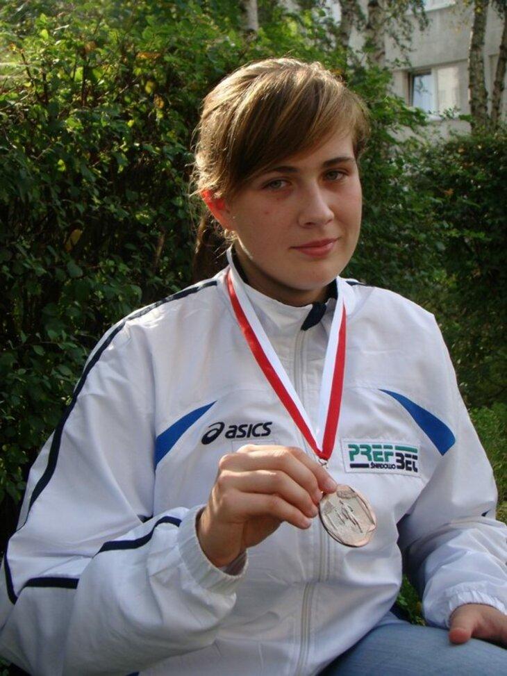 Beata Trzonkowska -lekkoatletyka