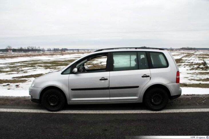 Porzucili VW pod Toczyłowem