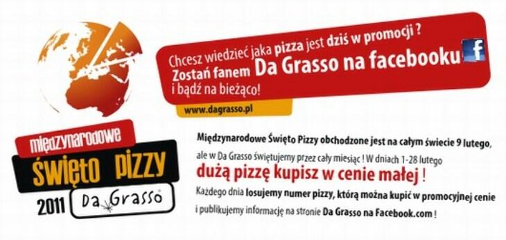 Święto pizzy w DaGrasso