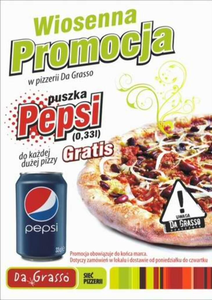 Promocja w Da Grasso