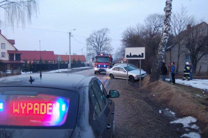 Wypadek na drodze nr 65