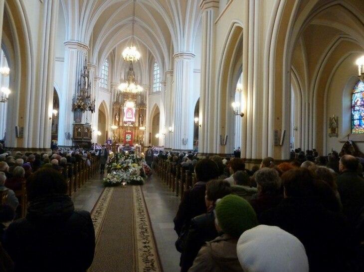 Pogrzeb ks. prałata K.Gackiego