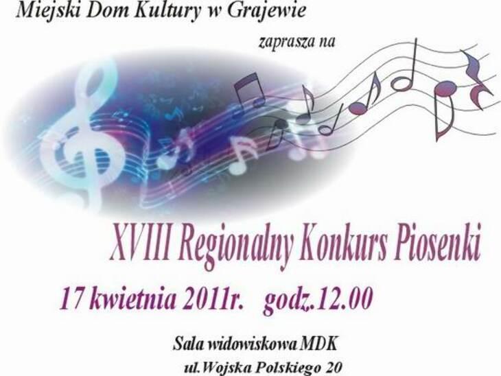 Regionalny konkurs piosenki