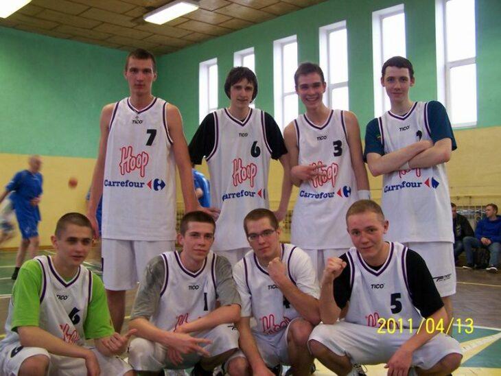 Zawody w piłce koszykowej