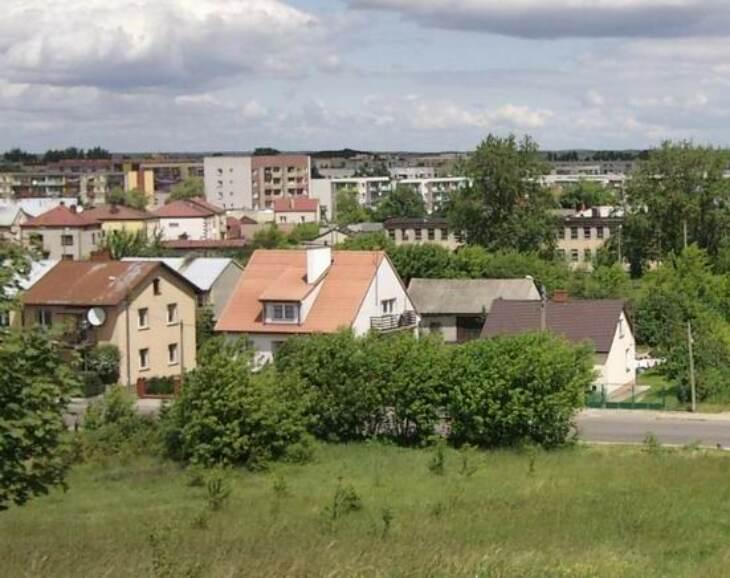 Kompleks małego miasta