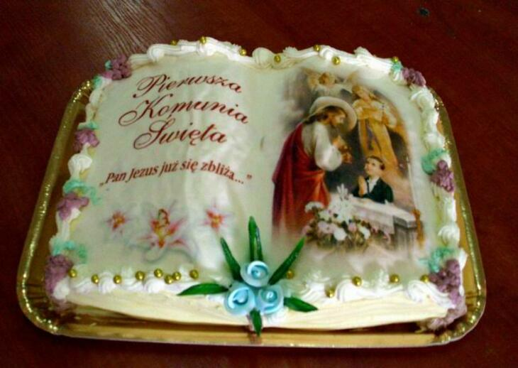 KONOPKI - torty na I Komunię