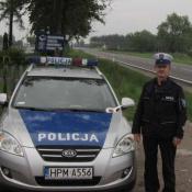 1. III miejsce  młodszy aspirant Wiesław Dembiński z Komendy Powiatowej Policji w Grajewie