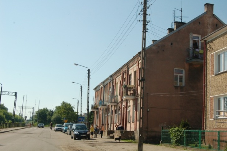 Pożar na ul. Kolejowej