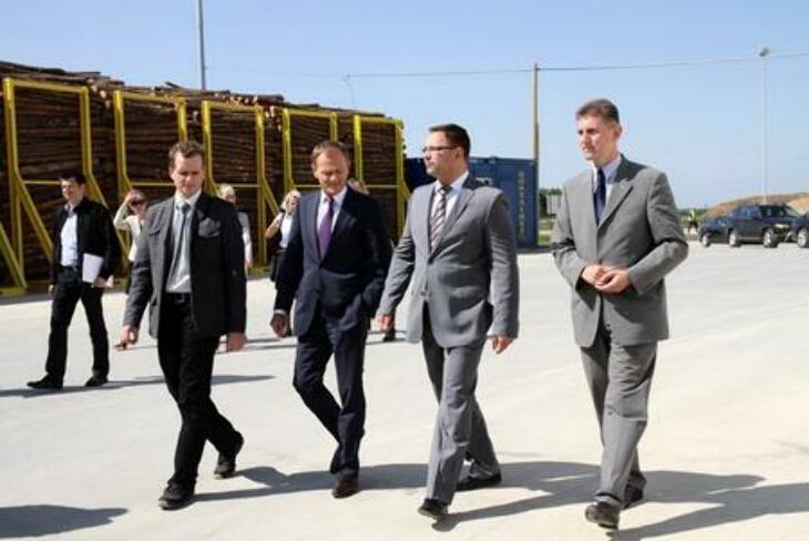 Premier odwiedził podlaskie
