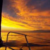 2. Zachód słońca Hiszpania, cudne widoki 25.VI.2011r  fot. Beata