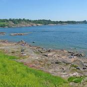 3. Wyspa Suomenlinna koło Helsinek/Finlandia  Podpis: Joanna