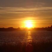 5. zachód słońca w Ełku Podpis: Sylwia