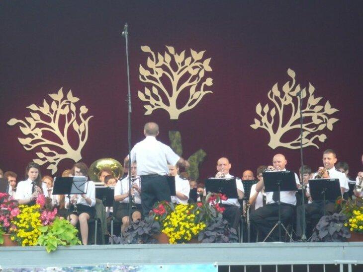Orkiestra OSP na Litwie