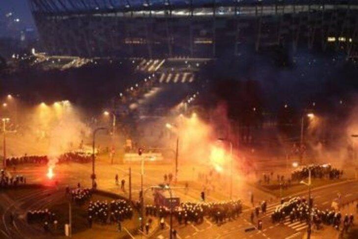 Zamieszki w Warszawie 11 XI