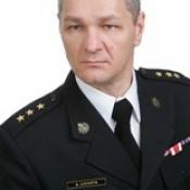 16. kpt. mgr Arkadiusz Lichota -Zastępca Komendanta Powiatowego Państwowej Straży Pożarnej w Grajewie