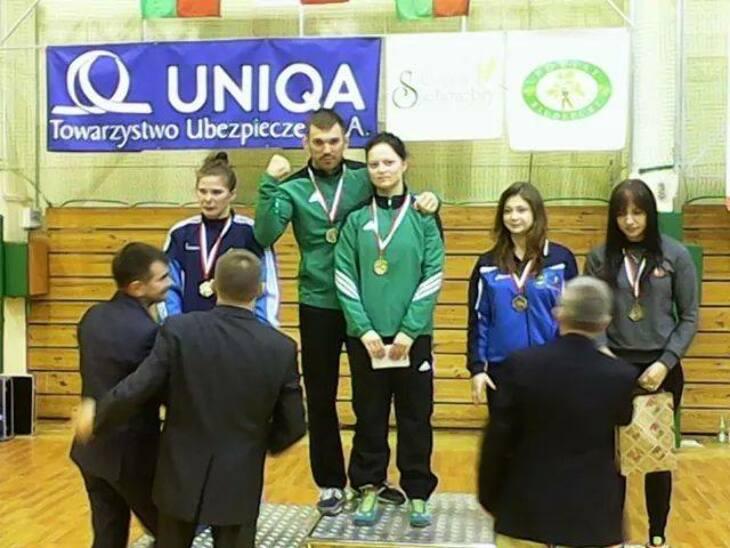 Czwarty z rzędu medal Ewy!