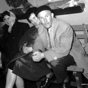 4. Pracownicy kina. Od l. A. Bućko. nn, S. Buzon