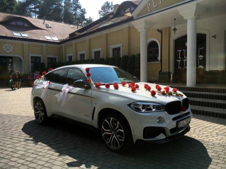 Luksusowe BMW X6 na ślub