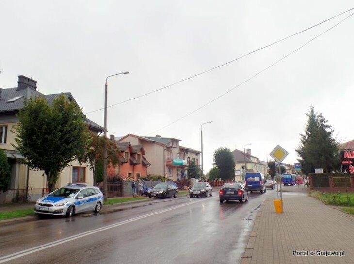 Kolizja na Wojska Polskiego