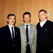 11. 11. Lizbona, 28 IV 1996, mecz Portugalia - Polska, Od l. sedzia portugalski, francuski, sedzia W Michalak