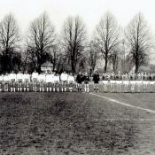 8. 8, Mecz juniorów NRD -,Polska, 3-6 w Magdeburgu, 17 IV 1976 z trenerem reprezentacji W. Michalakiem