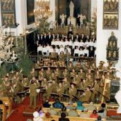11. 13. Katedra Polowa WP, koncert z chórem UKSW, 1998