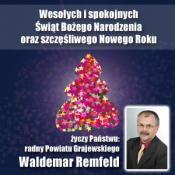 7. Waldemar Remfeld - radny Powiatu Grajewskiego