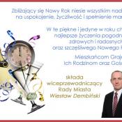 21. Wiceprzewodniczący Rady Miasta Grajewo Wiesław Dembiński