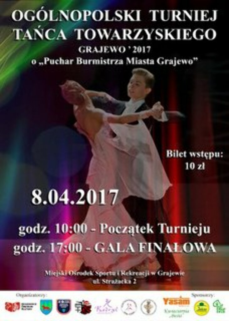 Turniej Tańca Grajewo 2017