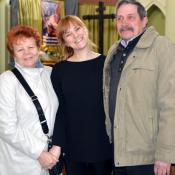 13. Anna Olszewska z rodzicami