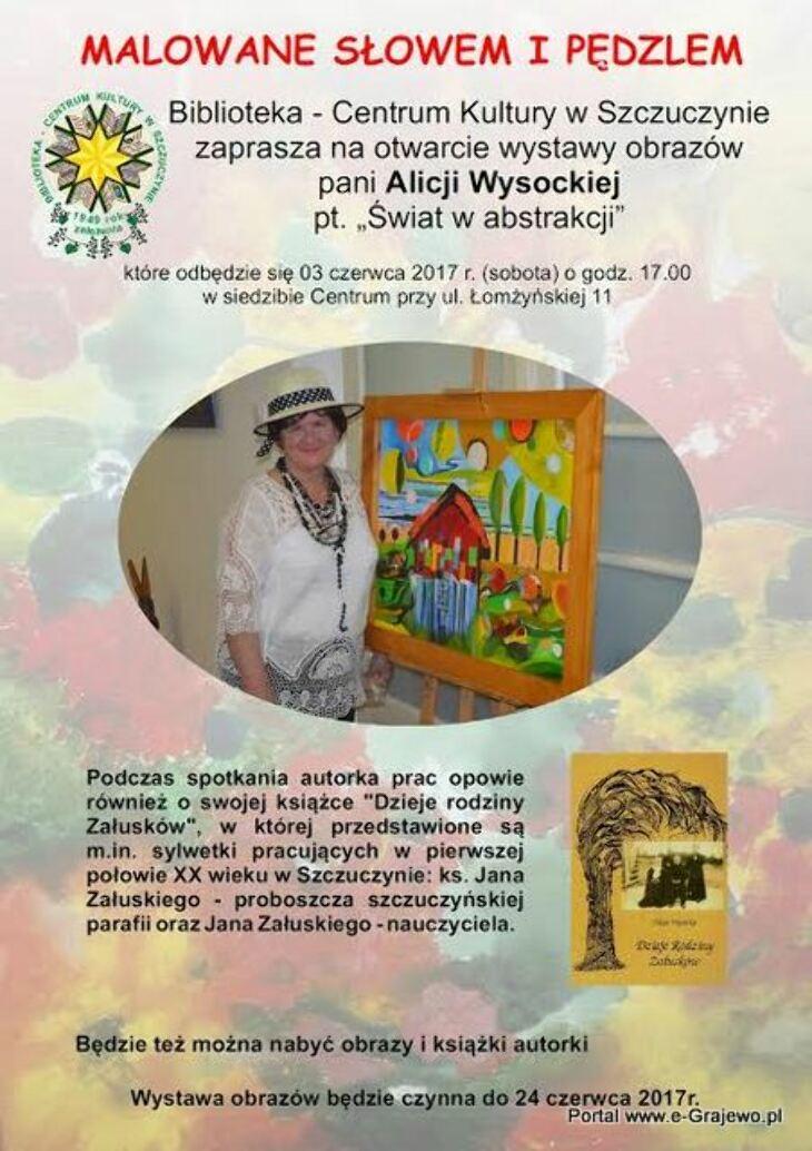 Wystawa Alicji Wysockiej