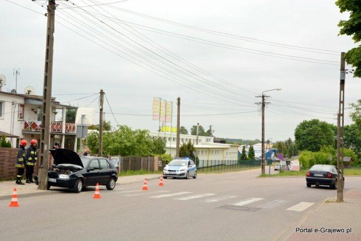 Kolizja na ul. Przemysłowej