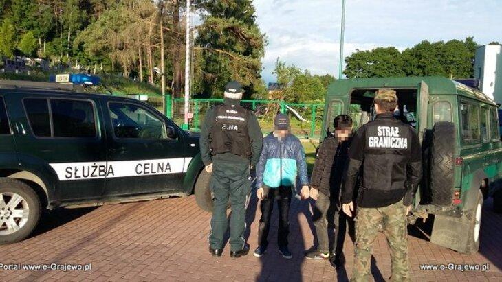 Zatrzymano 10 migrantów