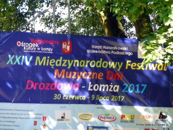 Festiwal - koncert w Rajgrodzie