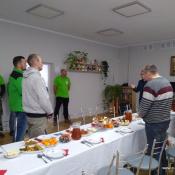 56. Morsy z Grajewa wzięły udział w Wigilii w Klubie Seniora, później odwiedziły podopiecznych w Ich domach z potrawami wigilijnymi