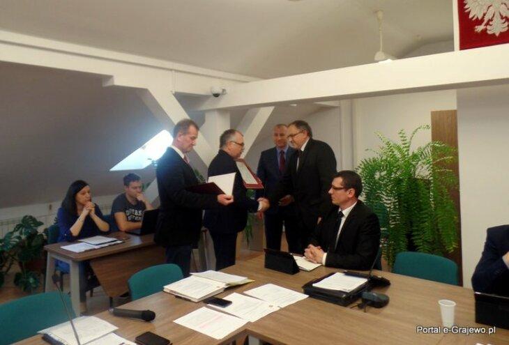Echa VI sesji Rady Powiatu