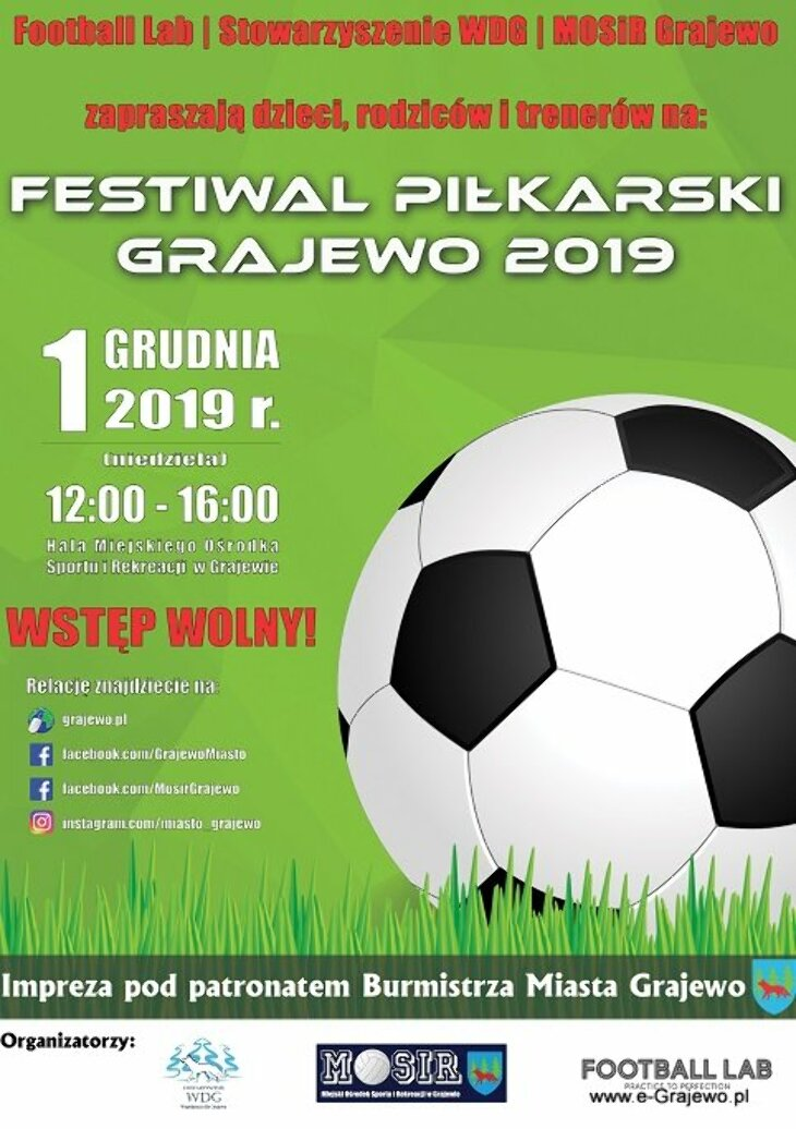 Festiwal Piłkarski Grajewo