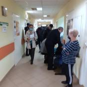 22. Szpital, Seniorzy szczepią się przeciw COVID-19