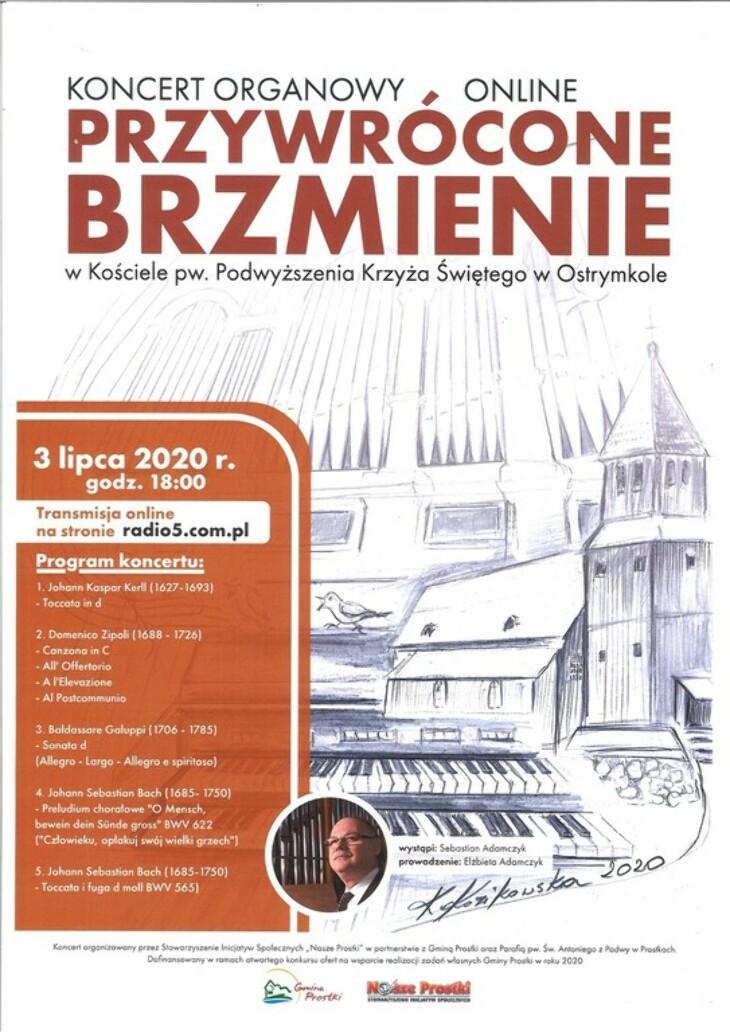 Koncert  w Ostrymkole
