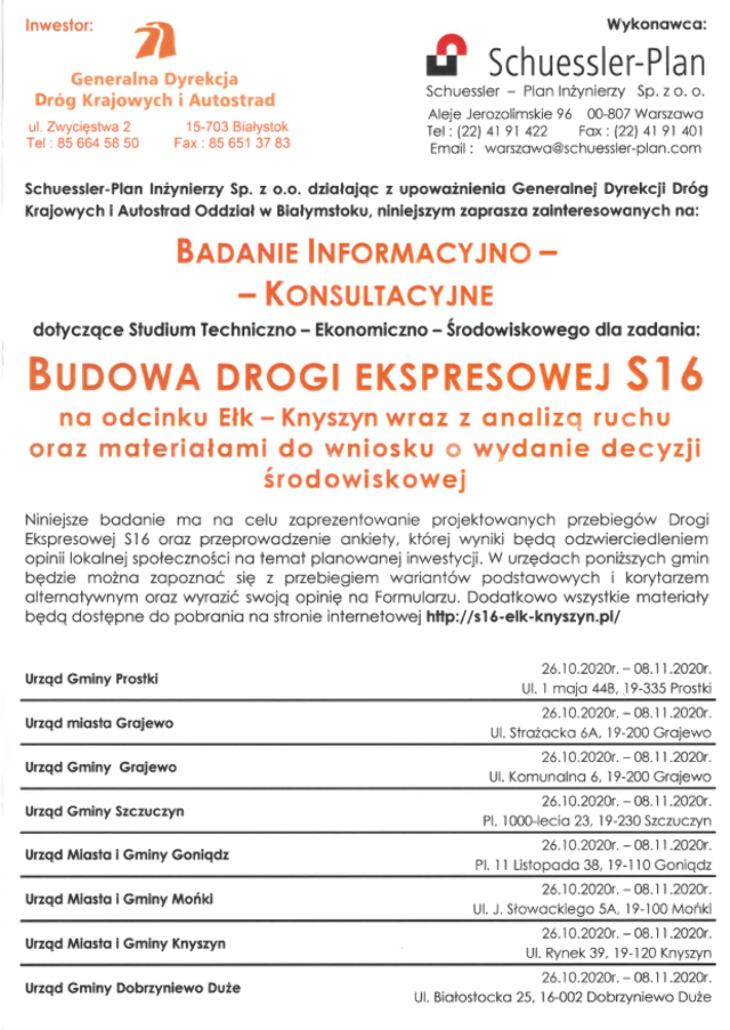 Droga ekspresowa Ełk-Knyszyn