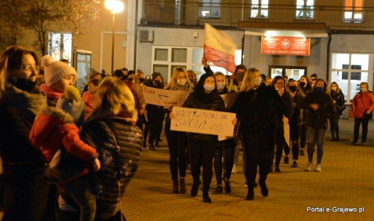 Kolejny dzień protestów