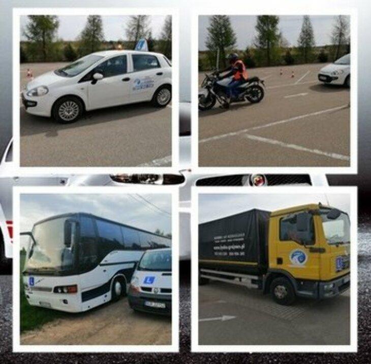 OSK Łynka: prawo jazdy w 14 dni; kurs na wózki widłowe (1.10)