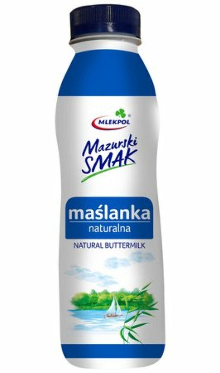 Fermentowana porcja zdrowia - Maślanka naturalna Mazurski Smak