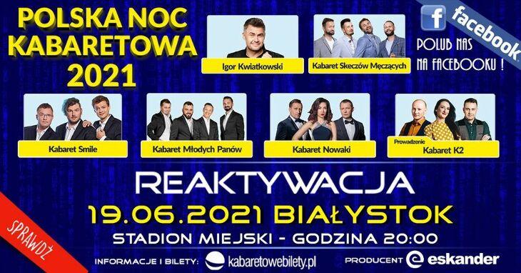 Noc Kabaretowa 2021