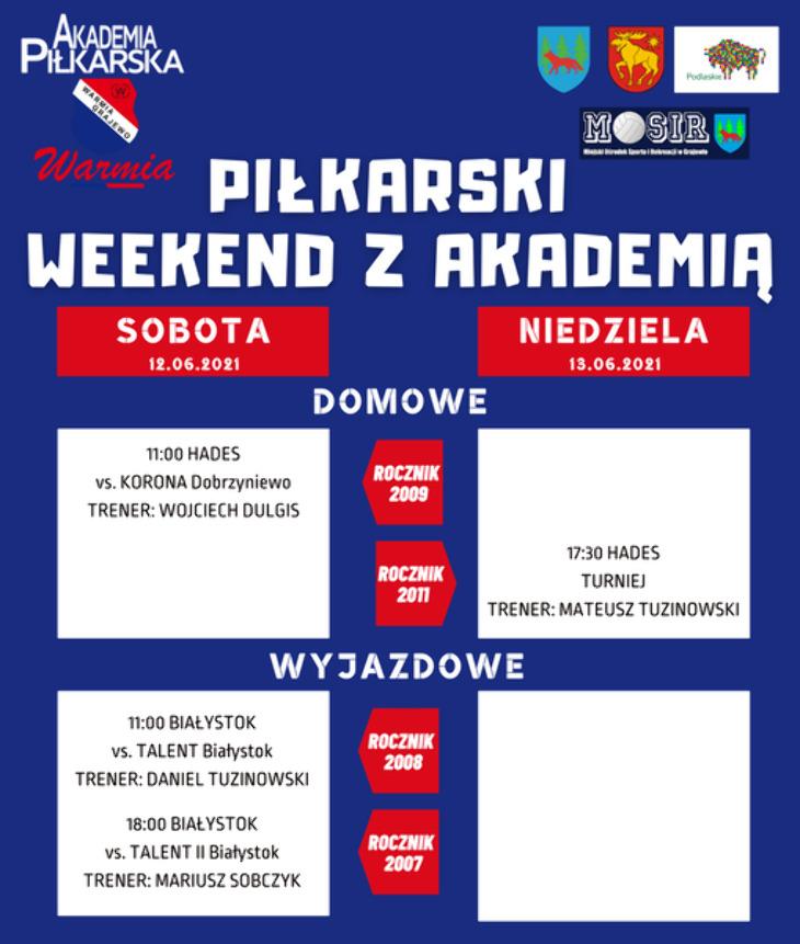 Piłkarski Weekend z Akademią
