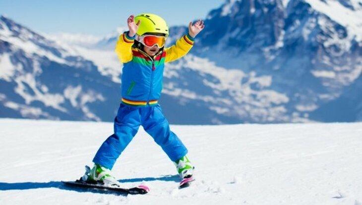 Jak dobrać narty dla dzieci?
